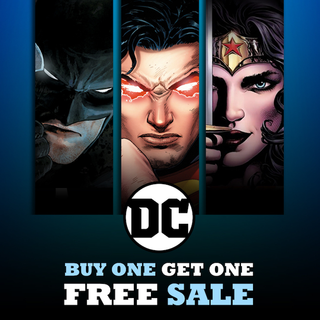 DC Comics Offering Rebirth Starters At Buy One, Get One Free For Black Friday