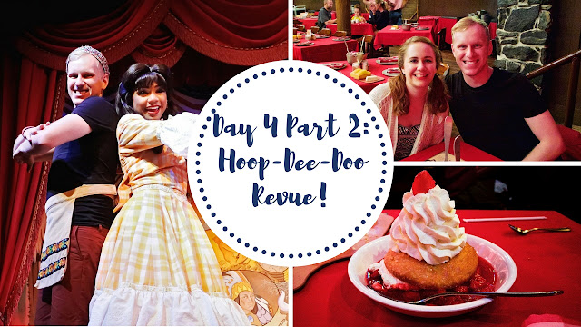 Participation at Hoop-Dee-Doo Revue at Walt Disney World