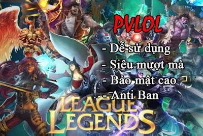 PVLoL VIP - TOOL Liên Minh Huyền Thoại Hoàn Toàn Miễn Phí Siêu An Toàn