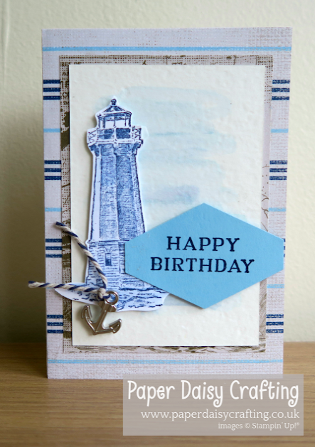 Nigezza Creates, Stampin Up sailing home