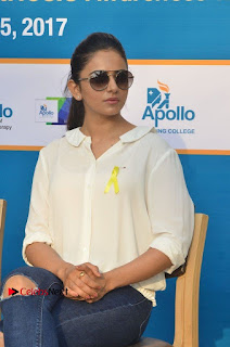 Actress Rakul Preet Singh at Endometriosis Awareness Walk at Apollo Cradle  0099.jpg