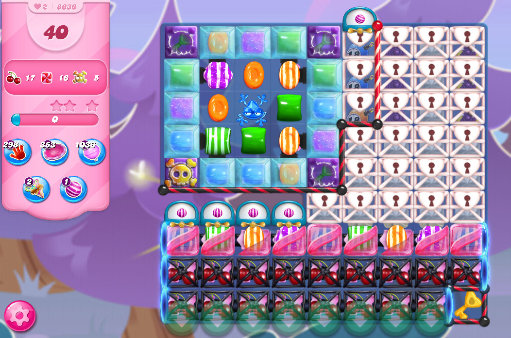 Candy Crush Saga level 8636