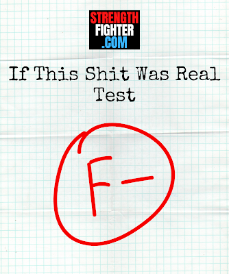 If This Shit Was Real Test.  StrengthFighter.com