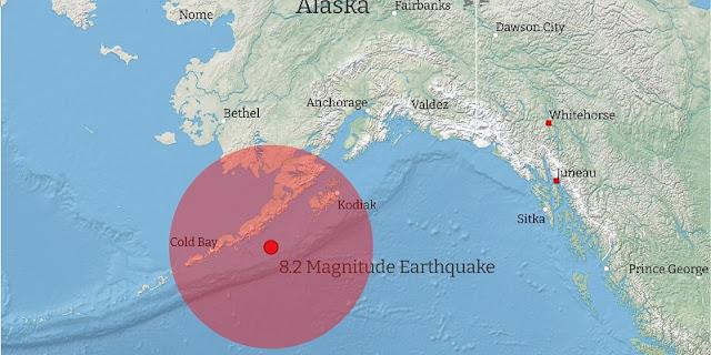 Usai Diguncang Gempa Magnitudi 8,2, Total 61 WNI di Alaska Aman