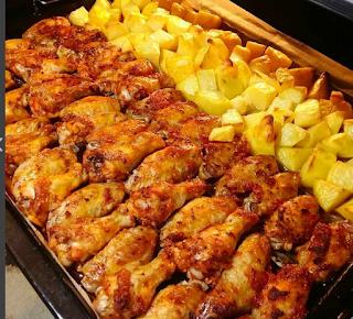 fırında tavuk nasıl yapılır