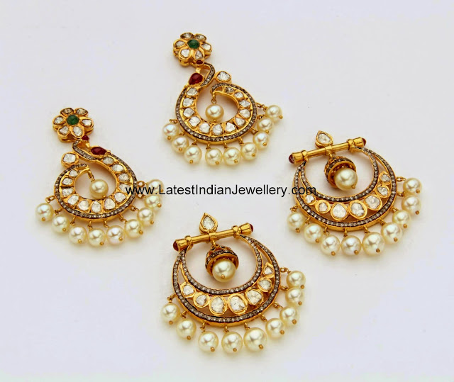 Latest Designer Chandbali Earring Designs