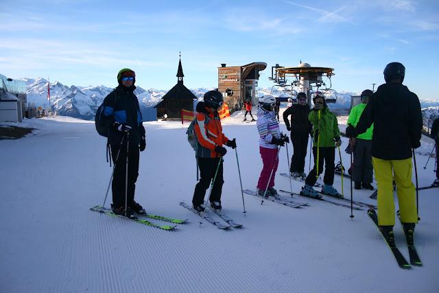 Begeisterte SchifahrerInnen auf frisch präparierten Pisten! © diekremserin on the go