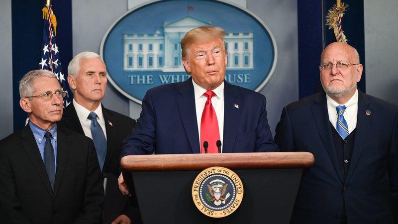 President Trump Confirms 1st U.S. Coronavirus Death