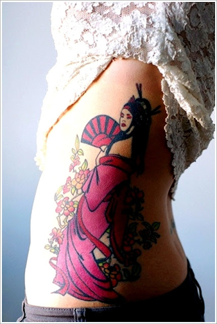 10 CONVENTIONAL GEISHA TATTOO THAT YOUR ARTISTIC SIDE INSPIRE