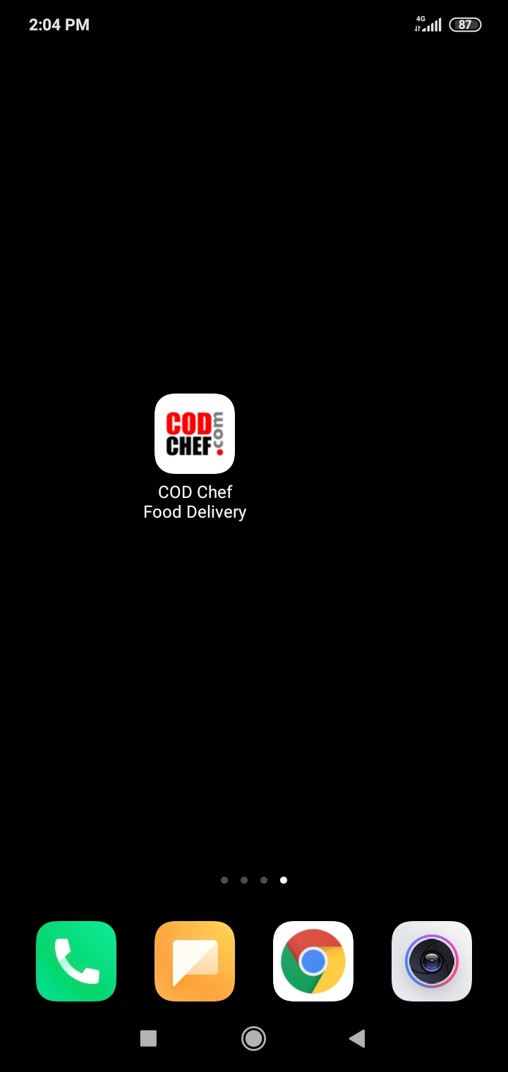 Web App Food Delivery #codchef