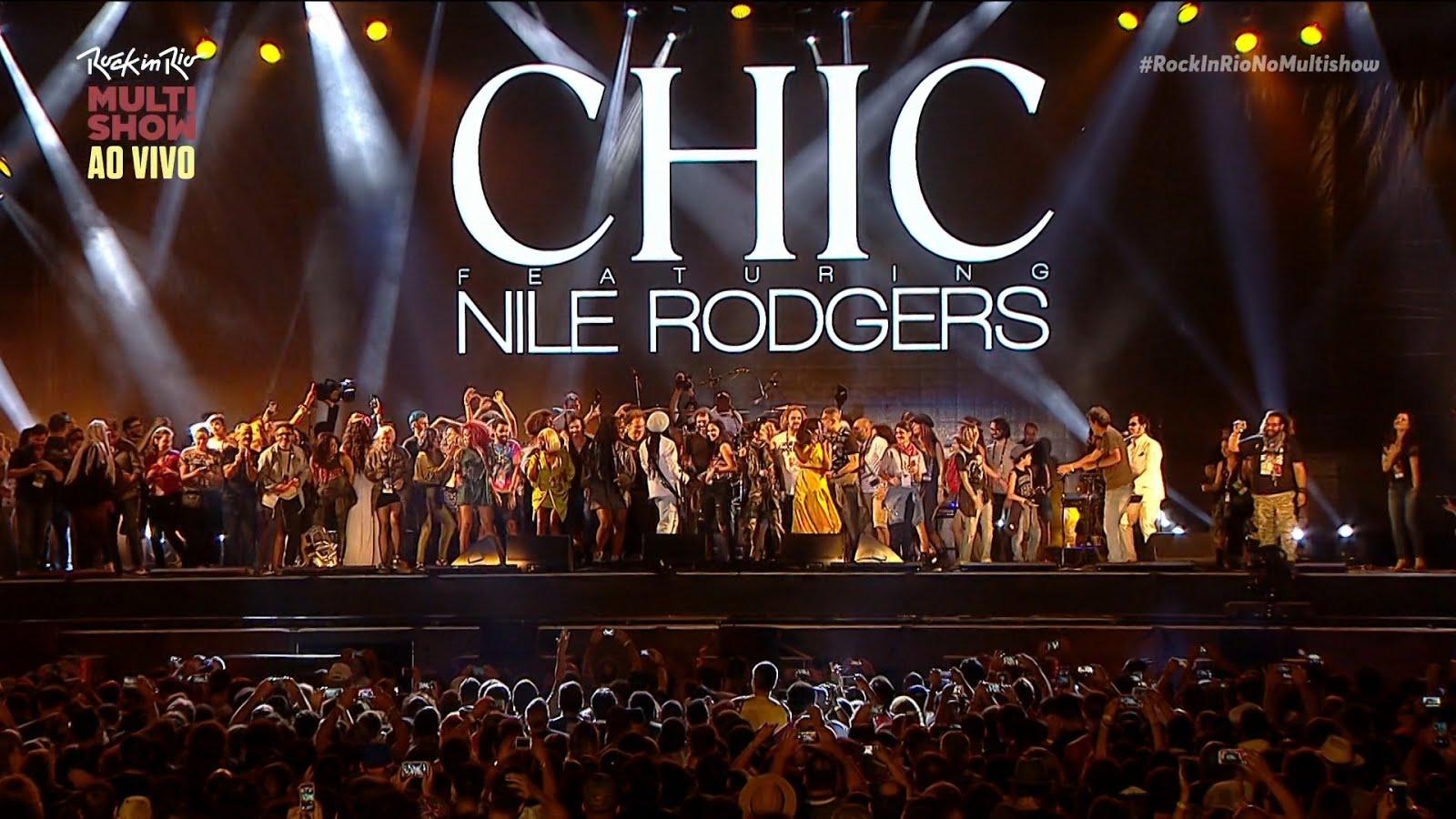 T U B E : Chic Feat  Nile Rodgers - 2017-09-17 - Rio de