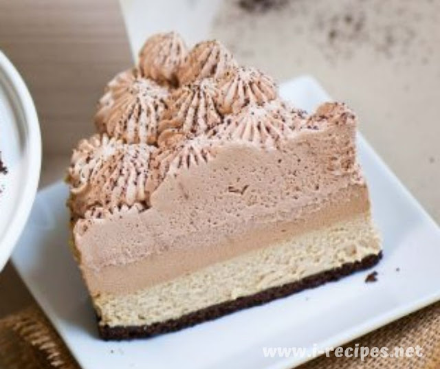 Triple Coffee Cheesecake