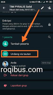 Cara Membuat Link Grup Wa : membuat, Membuat, WhatsApp, (Panduan, Lengkap), Roqibus