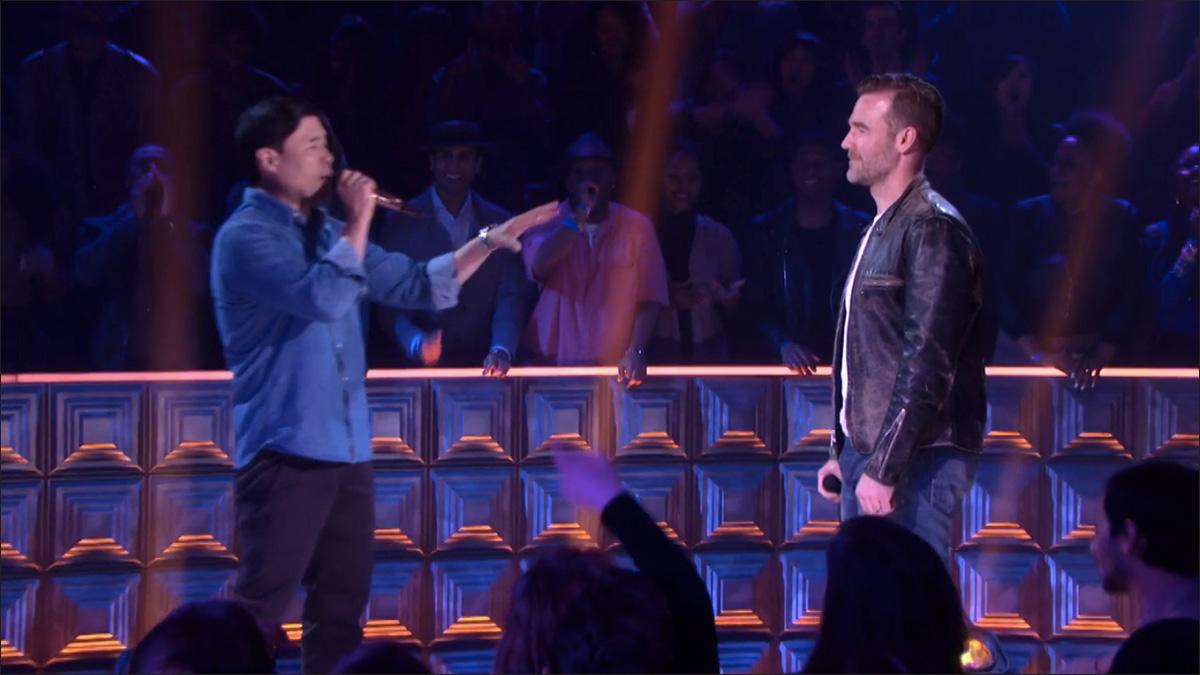 Randall Park vs. James Van Der Beek: The Rap Battle