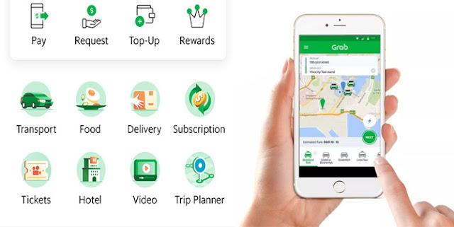Cara Terbaru Pesan Grab dengan Mudah Grabbike, Grabcar, GrabFood, Grab Taxi, Grab Fresh dan Grab Express
