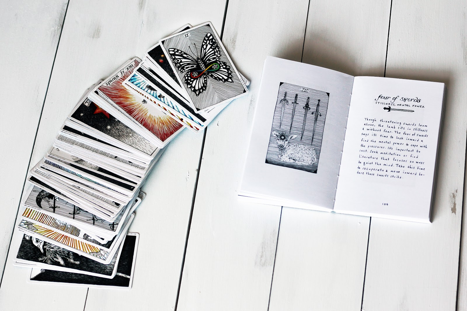 The Wild Unknown Tarot Card Deck Volume 1