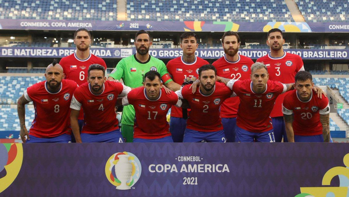 Formación de Chile ante Uruguay, Copa América 2021, 21 de junio
