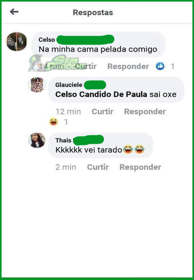 VELHO TARADO DA INTERNET ATACANDO NOVAMENTE