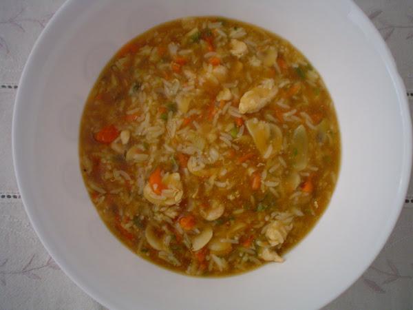 Arroz kubak con 3 delicias