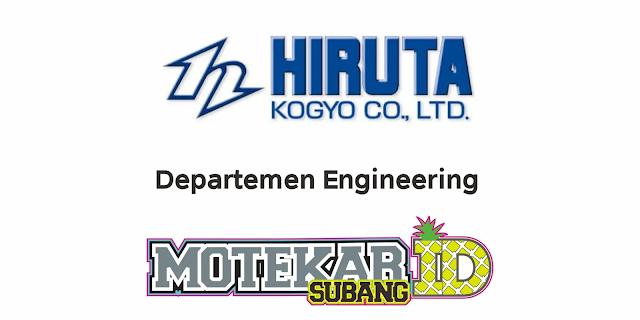 Info Lowongan Kerja PT Hiruta Kogyo Indonesia April 2021