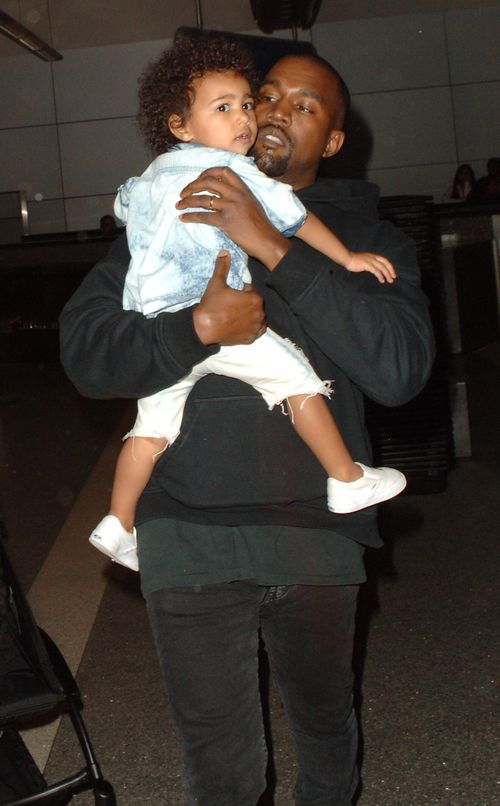 Blatant rumor around North West: Kanye isn't her dad?