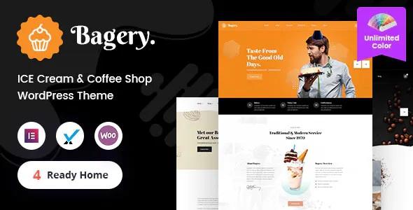Best Ice Cream Shop WordPress Theme