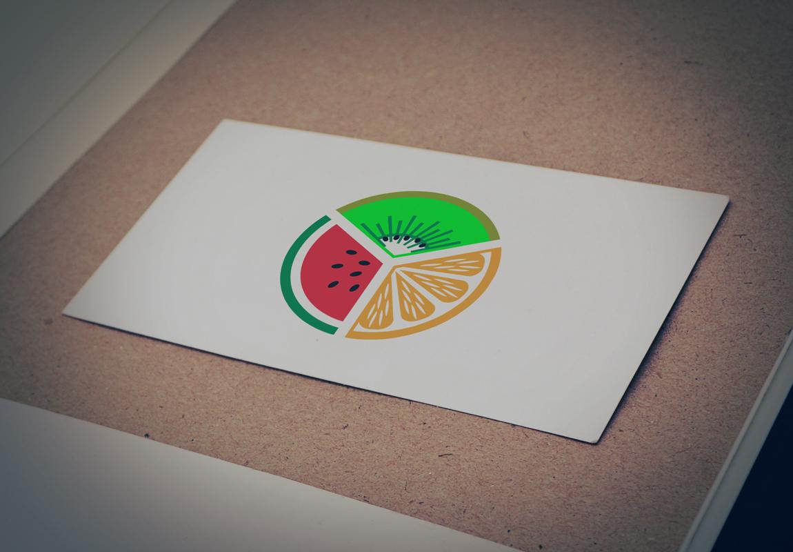 Download Free Logo of Three Fresh Fruits