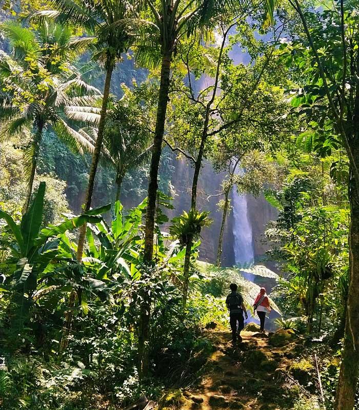 Rute Lokasi Kapas Biru Waterfall