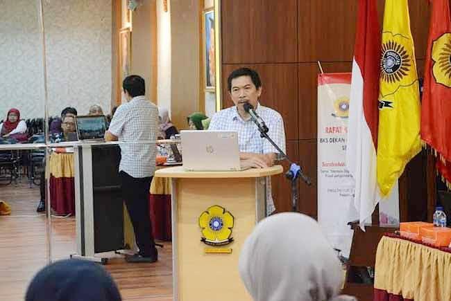 Dekan Fakultas Hukum Universitas Sriwijaya (Unsri), Dr Febrian SH MS.