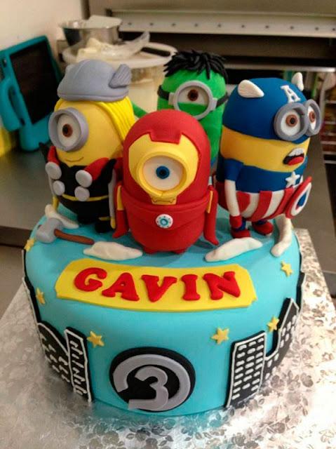 top-4-de-bolos-inspirados-em-filmes-e-series-vingadores-avengers-e-minions