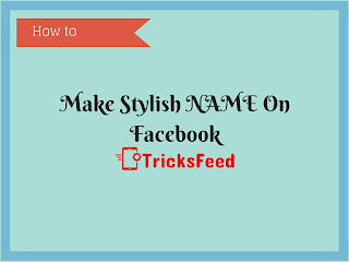 Make stylish name on facebook