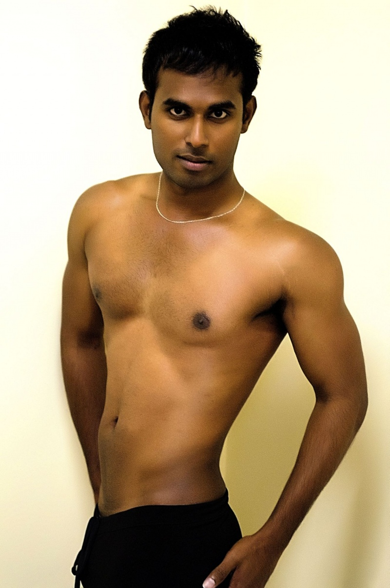 Indian Nude Model Male