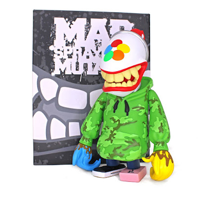 Mad Spraycan Mutant OG Street Edition Vinyl Figure by MAD x Martian Toys