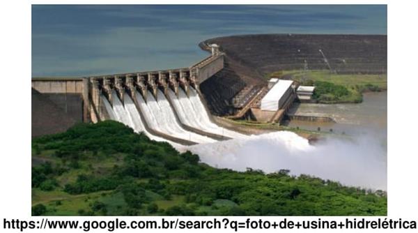 foto de usina hidrelétrica