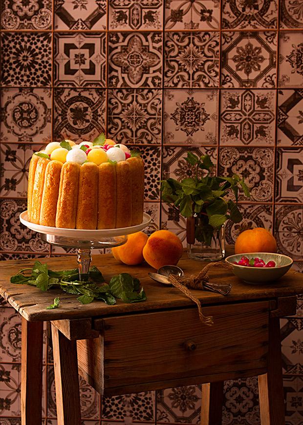 Cómo preparar una Carlota o Charlota de Frutas