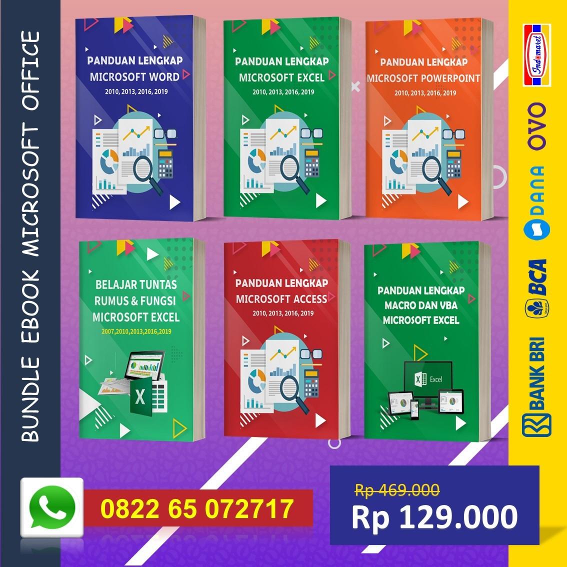 Bundle Ebook Panduan Belajar Office