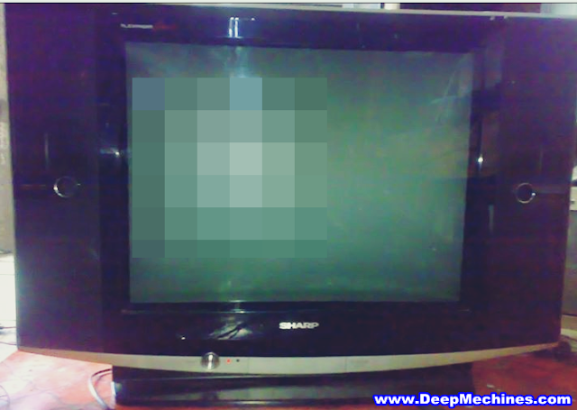 "Kerusakan Standby TV Sharp 29"" Slim"