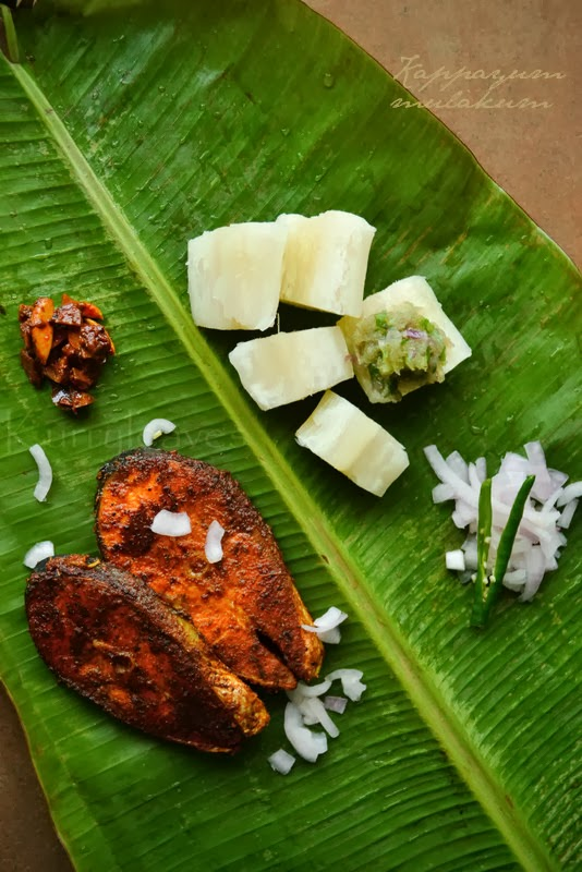 dbf0e2fd10 Boiled tapioca/yucca with spicy onion and green chilli chutney ,ready in  less than 30 minutes. Prep Time: 10 minutes. Cook time: 15 minutes. Serves:  4 ...