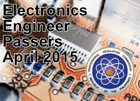 List of Top 10 Passer Electronics Engineer Licensure Examination