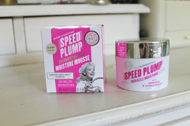 Beauty review, review, Soap & Glory, Night Moisturiser, Soap & Glory Speed Plump, dry skin, Overnight Moisturiser, beauty, blogger, review,