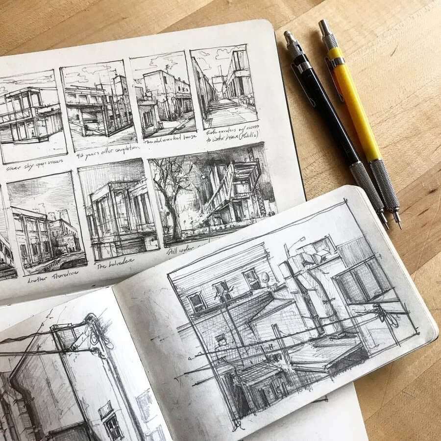 03-Architectural-vignettes-Drawing-Jerome-Tryon-www-designstack-co