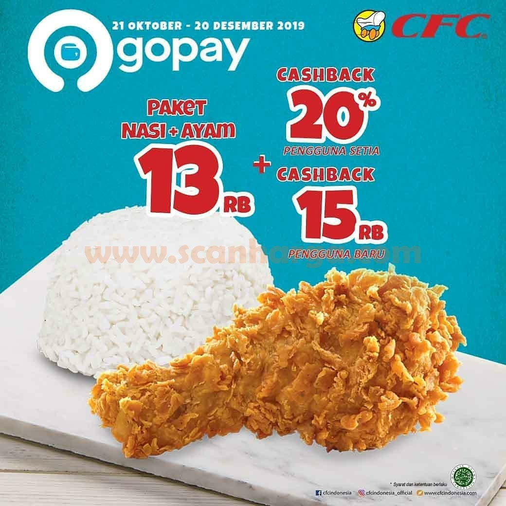 Promo CFC Special Price GoPay Periode 21 Oktober - 20 Desember 2019