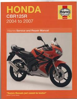 Honda CBR 125 free workshop and service manuals
