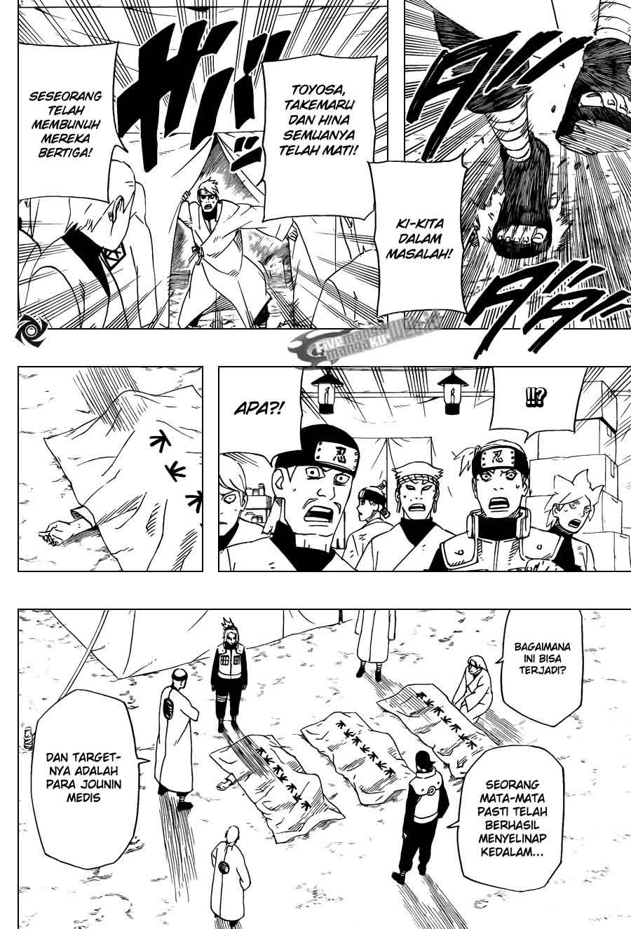 Baca Komik Naruto Shippuden 539-540 New Bahasa Indonesia