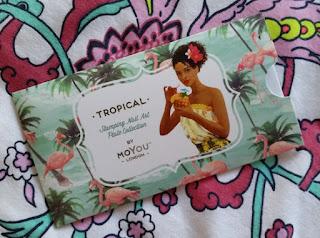 MoYou Tropical No.12 Nail Stamping Plate