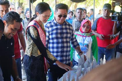 Putri Pariwisata Indonesia, Maluku Utara Turut Menghadiri Pembukaan Festival Tanjung Waka 2019