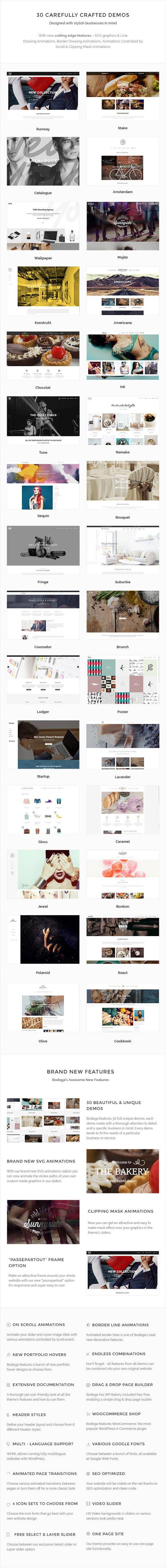Small Business Wordpress Theme - Bodega