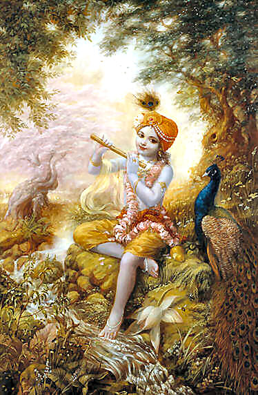 Lord Krishna Leela Story Birth Amp Growth Illustration