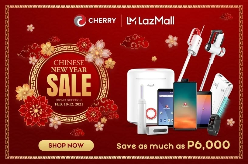 Welcome the Year of the Ox with Cherry; Grab Amazing Deals at Cherry Shop and Lazada this February 10-12