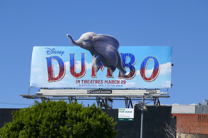 Dumbo movie billboard